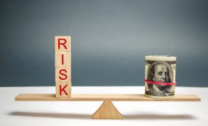 lower risk with more portfolio cash