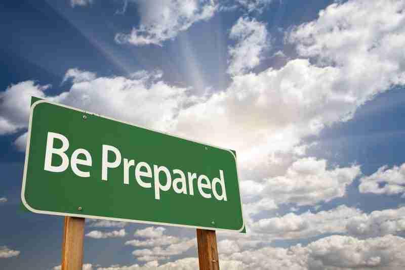 be prepared | investment strategies
