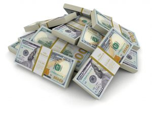 pile of money | How Much Net Worth Should Be Cash