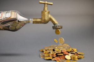 money flowing - tracking expense for cash to net worth ratio