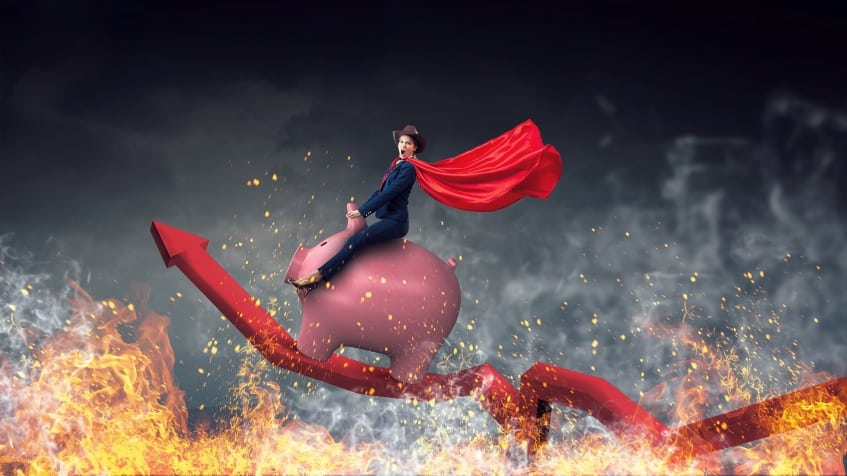 riding piggy   how to know if stocks will go up