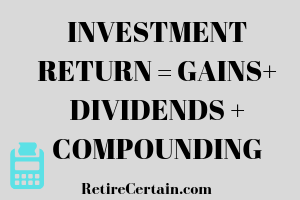 investment return formula