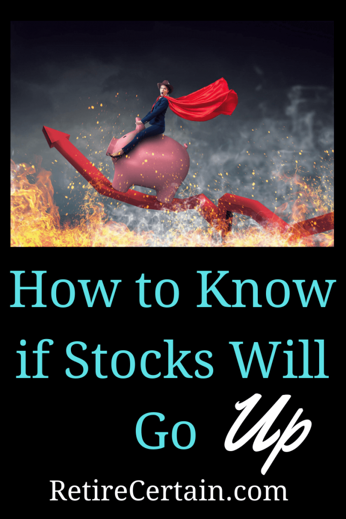 how to know if stocks will go up