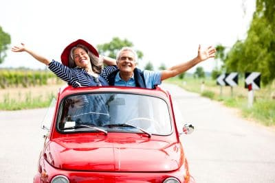 couple in retirement | when to switch from growth to income