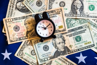 Money Timer Flag | Alternative Wealth Solution