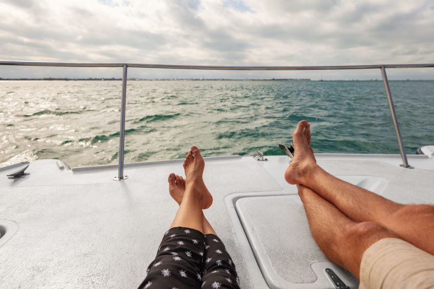 couple fulfilling their dreams through their stock market returns