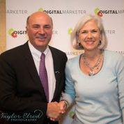 Camille Gaines and Kevin O'Leary